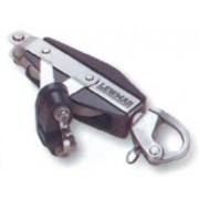 Lewmar Size 2 Ocean - Fiddle Becket & Servo Cleat Block with Snap Shackle