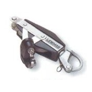 Lewmar Size 1 Ocean - Fiddle, Becket & Servo Cleat Block with Snap Shackle