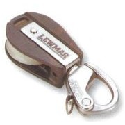 Lewmar Size 1 Ocean - Single Block with Snap Shackle
