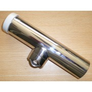 Stainless Steel Rod Holder with Rail Clamp