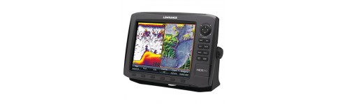 Combination Fishfinder and Chartplotter